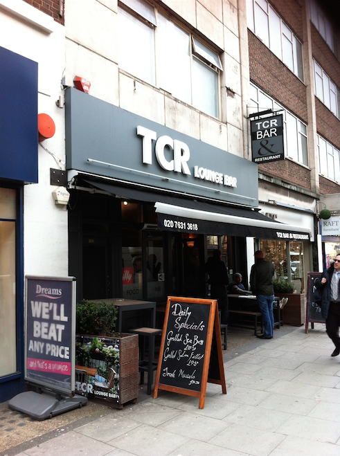 The TCR Bar